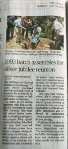 1993 Batch Silver jubilee reunion