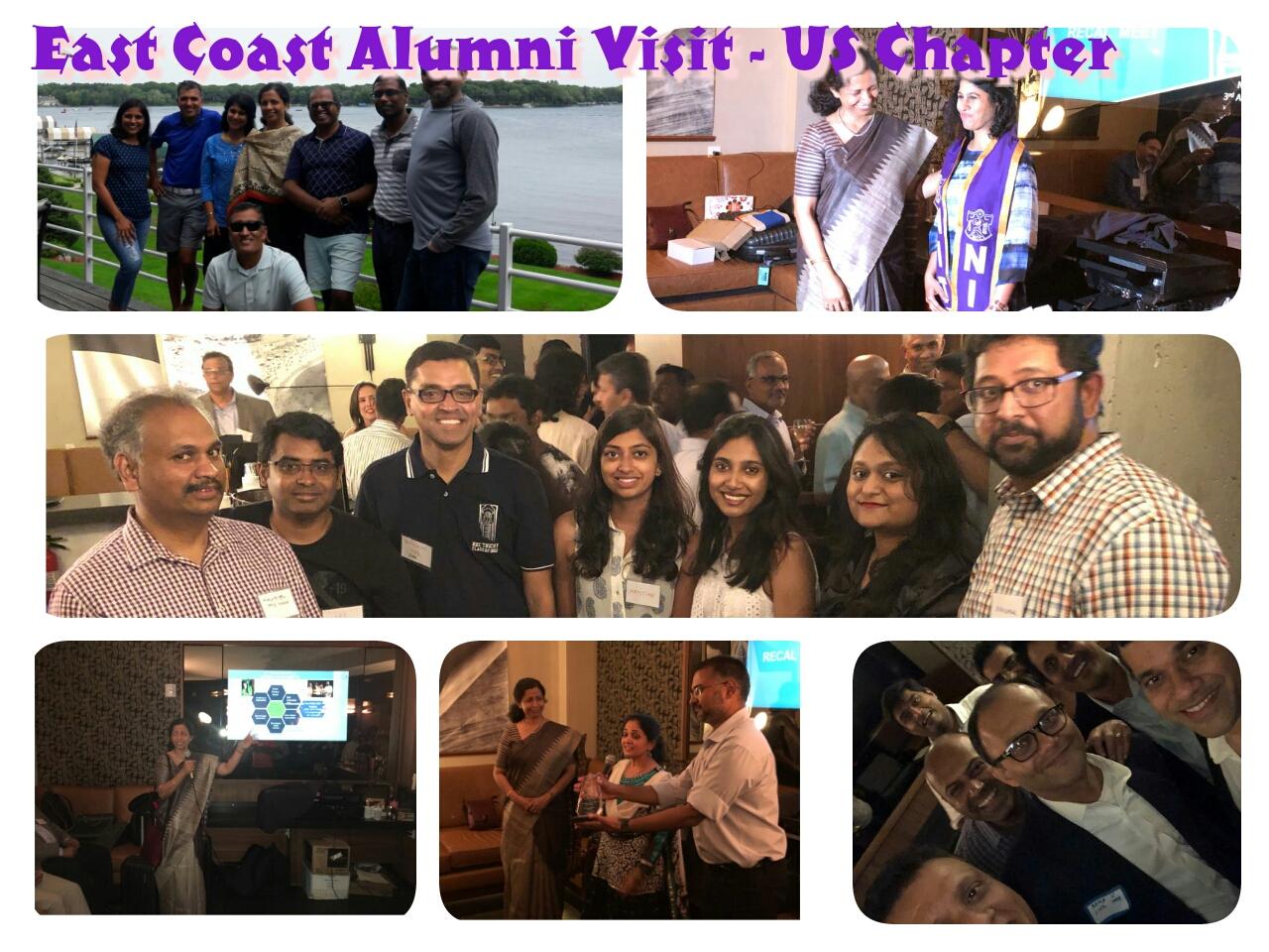East Coast Alumni Visit
