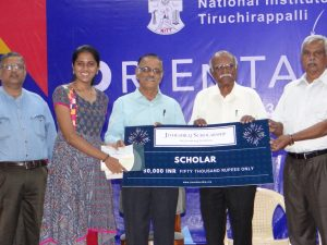 Jitheshraj Scholarship for promising freshman