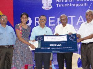 Jitheshraj Scholarship for promising freshman