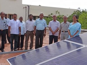 Solar Power Panel Installation -  1980 Batch