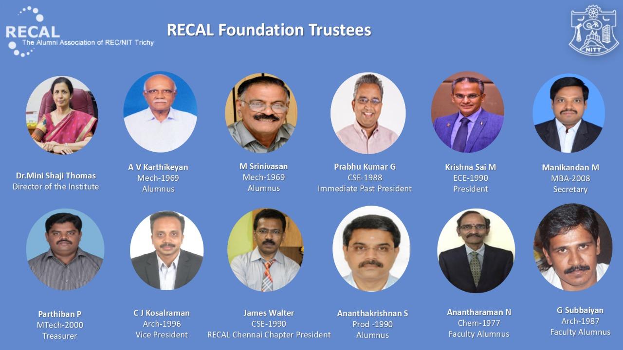 Trustee - Recal foundation 2018-20
