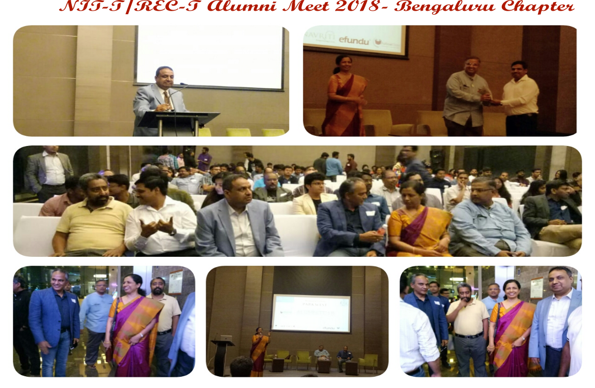Bangalore Alumni Meet 2018 - Collage with words